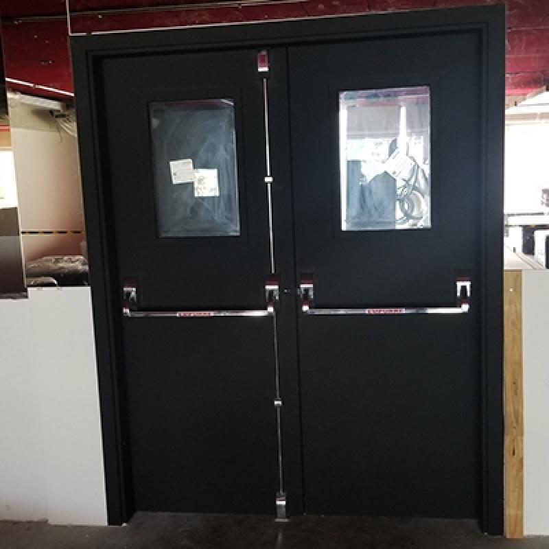 Loja de Porta Acústica para Auditório Água Branca - Porta Acústica de Madeira