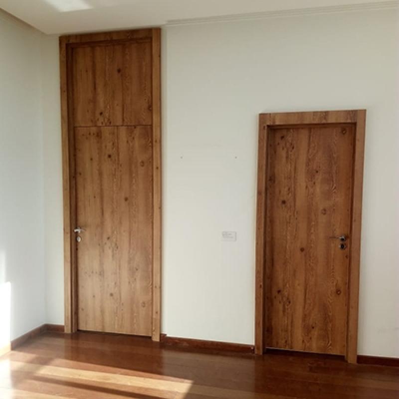 Loja de Porta Acústica Residencial Santa Cruz - Porta Acústica de Madeira