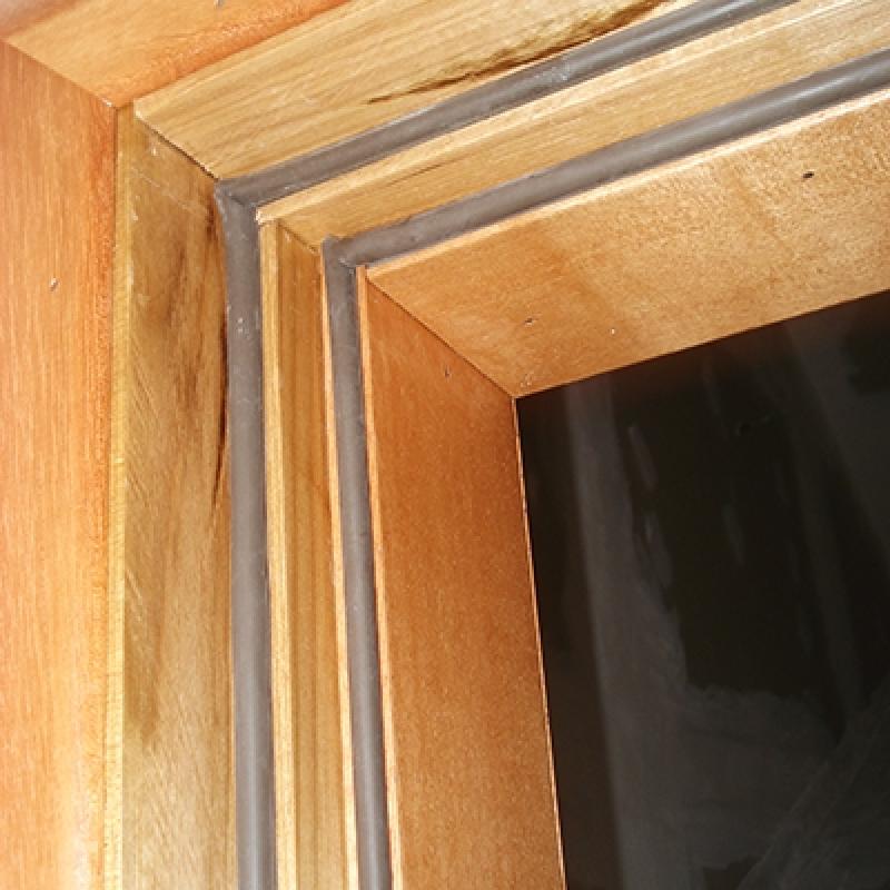 Porta Acústica Apartamento Jabaquara - Porta Acústica de Madeira