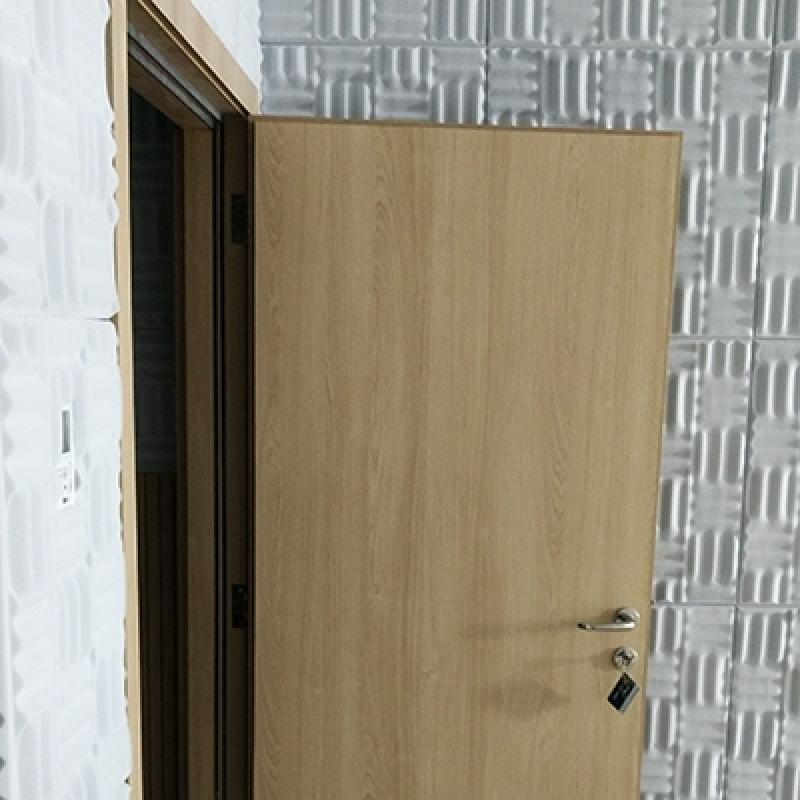 Porta Acústica para Estúdio Preço Ipiranga - Porta Acústica de Madeira