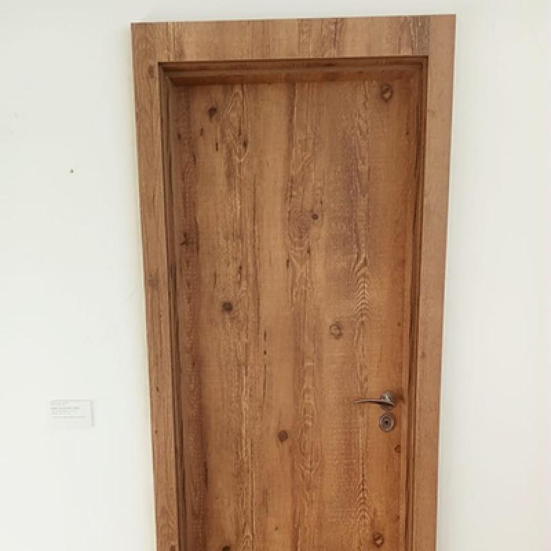 Porta para Quarto Acústica Preço Brooklin - Porta Acústica de Madeira