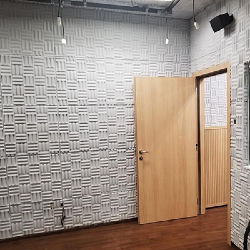 Valor de Porta Acústica para Auditório Vila Romana - Porta Acústica de Madeira